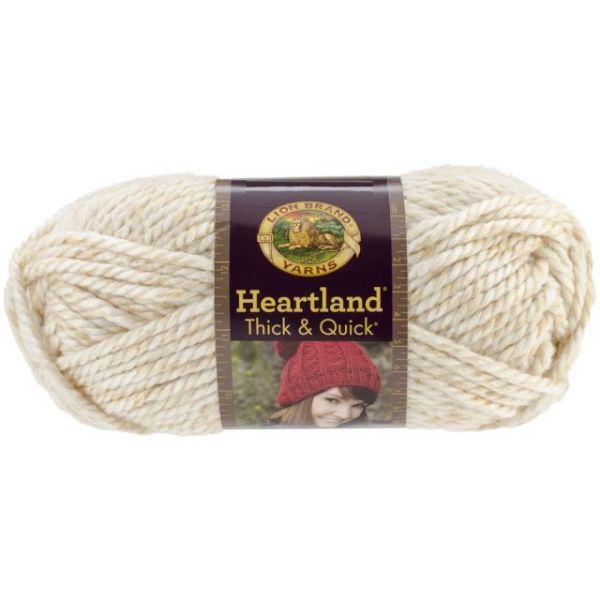 Lion Brand Heartland Thick & Quick Yarn - Acadia