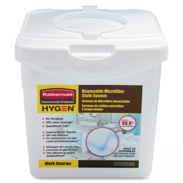 Rubbermaid Disposable Cloth System Container