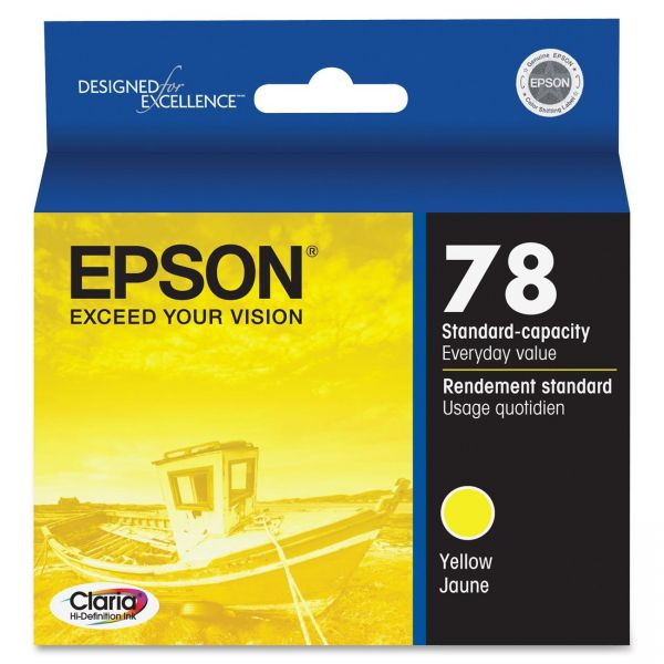 Epson 78 Yellow Ink Cartridge