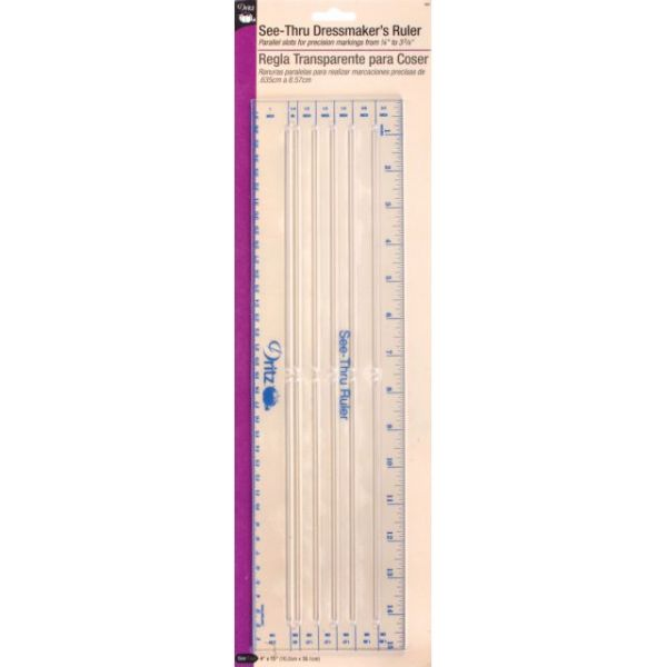 See-Through Dressmaker's Ruler