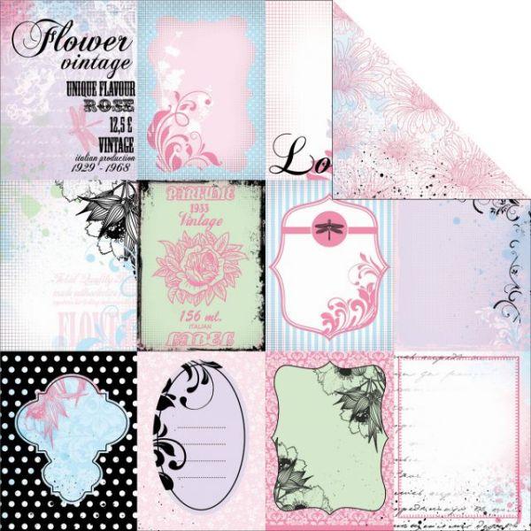 "Lavender Haze Double-Sided Paper 12""X12"""