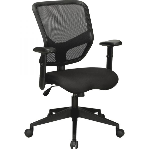 Lorell Executive Mesh Mid-Back Office Chair