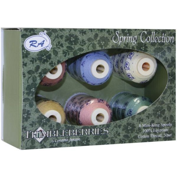 Thimbleberries Cotton Thread Collection 500yd 6/Pkg