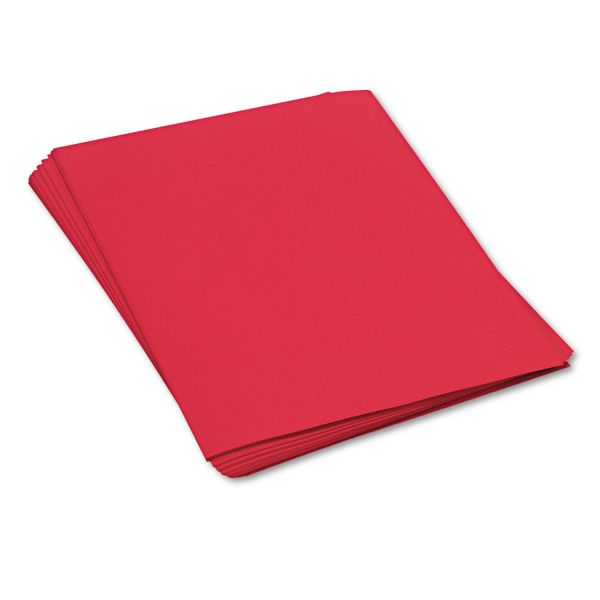 SunWorks Heavyweight Red Construction Paper
