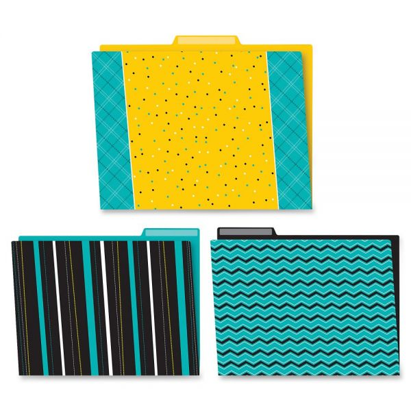 Carson-Dellosa Black/White/Bold File Folders Set