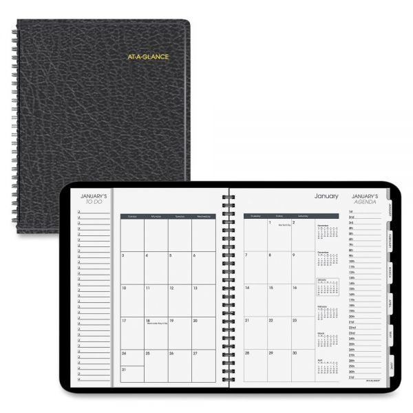 At-A-Glance Triple-View Daily/Monthly Appointment Book