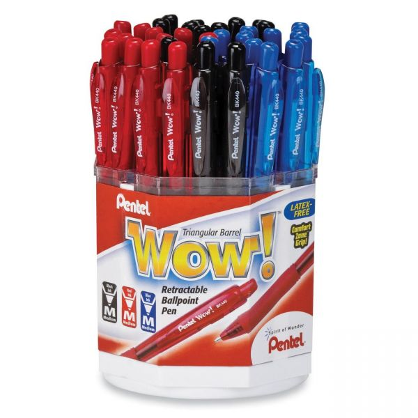Pentel WOW! Retractable Ballpoint Pen Display