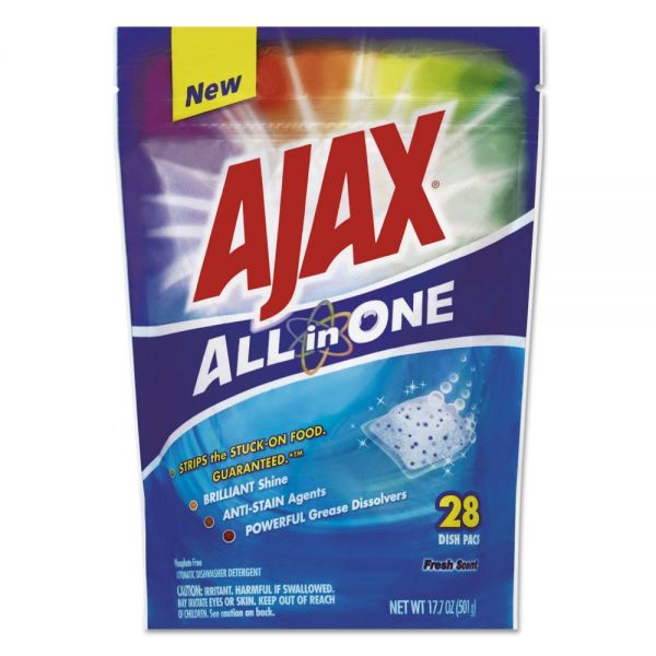 Ajax All in One Automatic Dish Detergent Pacs