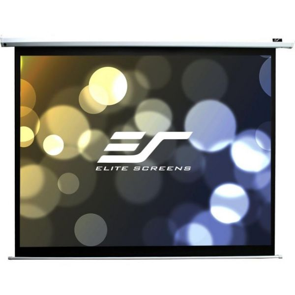"Elite Screens Electric84V Spectrum Ceiling/Wall Mount Electric Projection Screen (84"" 4:3 Aspect Ratio) (MaxWhite)"