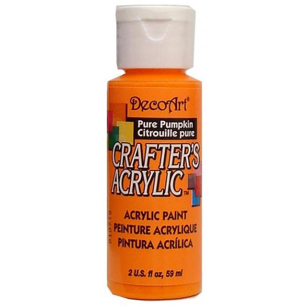 Deco Art Crafter's Acrylic Pure Pumpkin Acrylic Paint