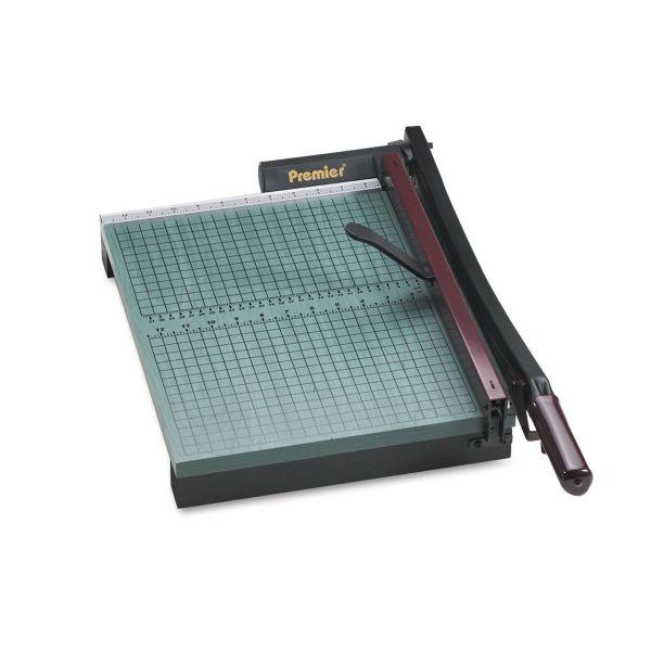 "Premier StakCut Paper Trimmer, 30 Sheets, Wood Base, 12 7/8"" x 17-1/2"""