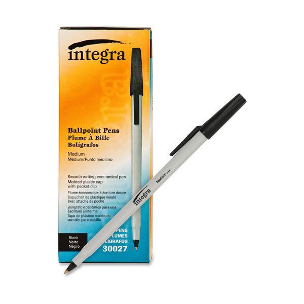 Integra Ballpoint Stick Pens