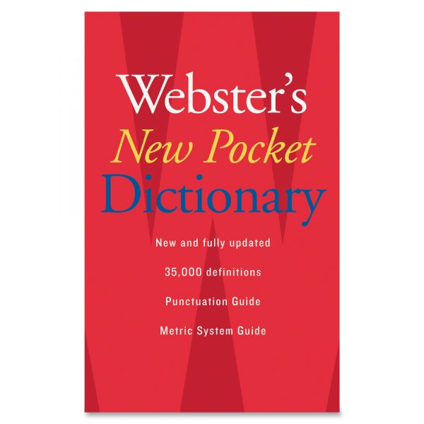 Webster's New Pocket Dictionary