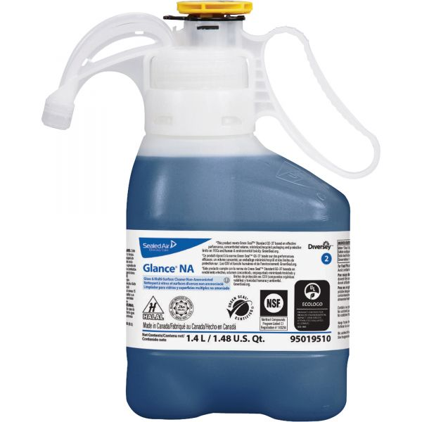 Diversey Glance Non-Ammoniated Glass & Multi-Purpose Cleaner - Smart Dose