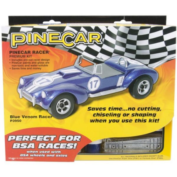 Pine Car Derby Racer(R) Premium Kit