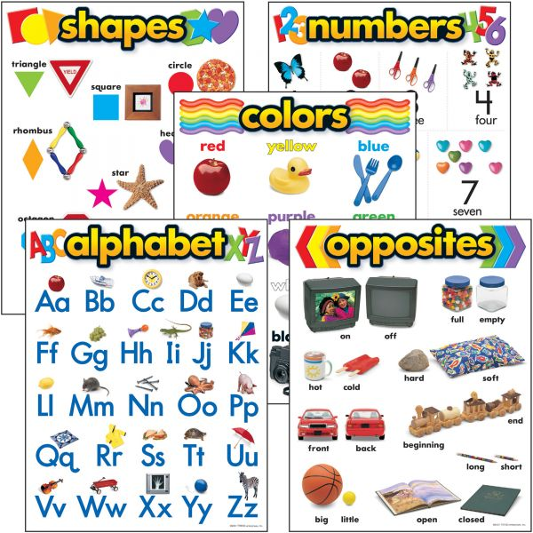 Trend Kindergarten Learning Chart