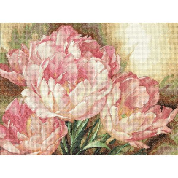 Dimensions Gold Collection Tulip Trio Counted Cross Stitch Kit
