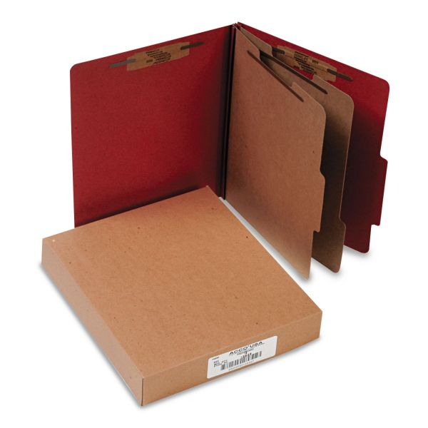 Acco 2-Divider Pressboard Classification Folders
