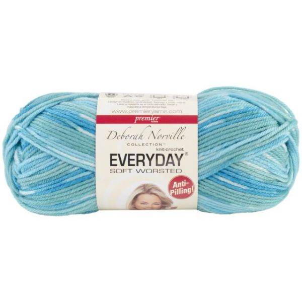 Deborah Norville Collection Everyday Soft Worsted Yarn - Lagoon