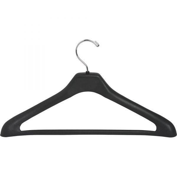 Lorell 1-piece Plastic Suit Hangers