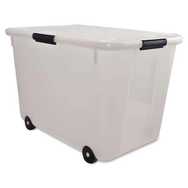 Advantus Rolling Storage Box