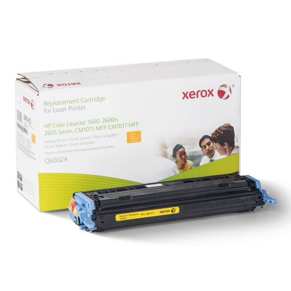 Xerox Remanufactured HP Q6002A Yellow Toner Cartridge