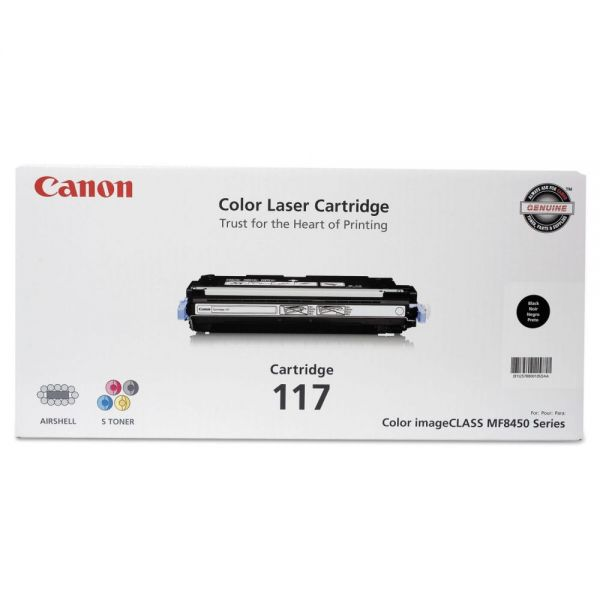 Canon 117 Black Toner Cartridge (2578B001)