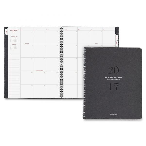 At-A-Glance Collection Large Neutral Monthly Planner