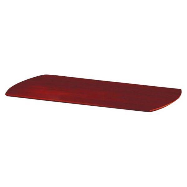 Tiffany Industries Napoli Series Desk Top With Modesty Panel, 72w x 36d, Sierra Cherry