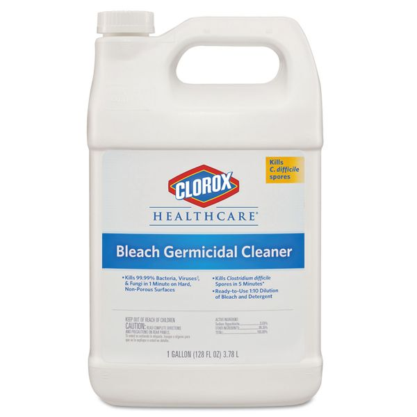 Clorox Healthcare Hospital Bleach Germicidal Cleaner