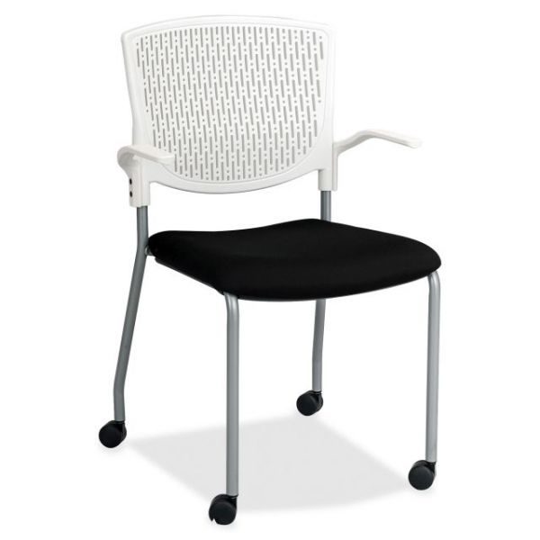 Lorell Plastic Back Guest Chairs