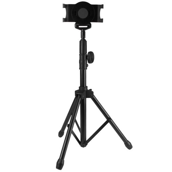 StarTech.com Tripod Floor Stand for Tablets - Portable Tablet Tripod with Carrying Bag