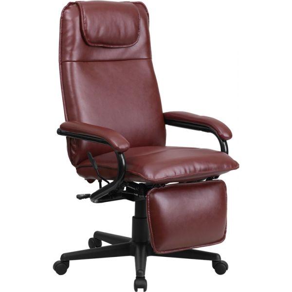 Flash Furniture High Back Executive Reclining Swivel Office Chair [BT-70172-BG-GG]