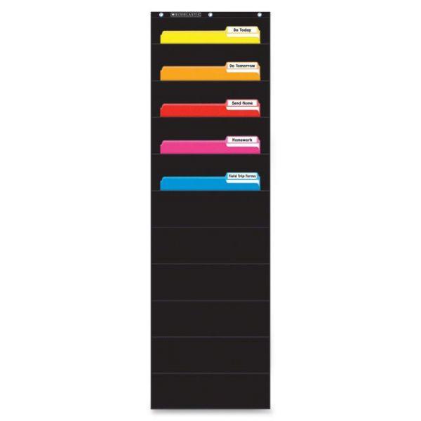Scholastic Res. Gr K-5 File Organizer Pocket Chart