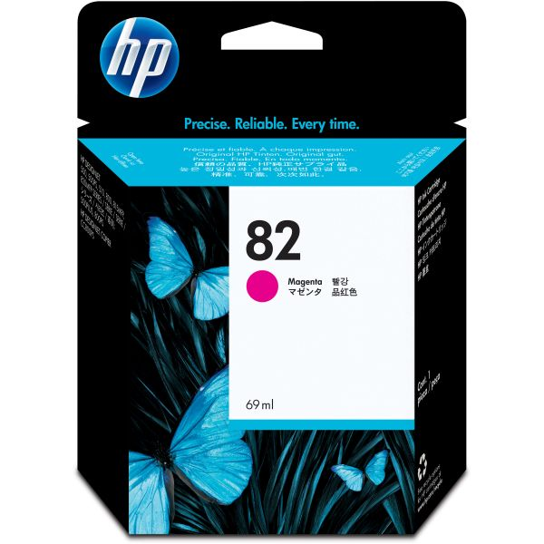 HP 82 Magenta Ink Cartridge (C4912A)