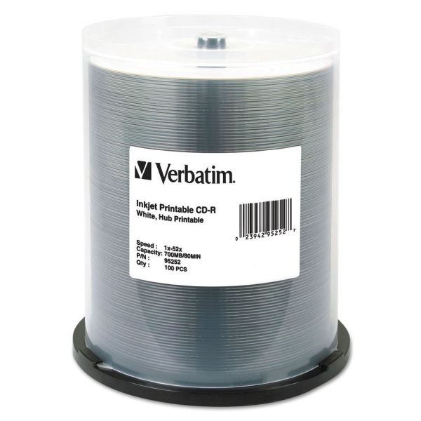 Verbatim Recordable CD Media