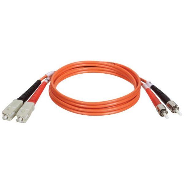 Tripp Lite 2M Duplex Multimode 62.5/125 Fiber Optic Patch Cable SC/ST 6' 6ft 2 Meter