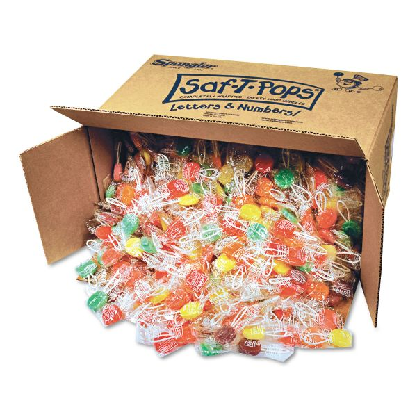 Saf-T-Pops Individually Wrapped Hard Candy