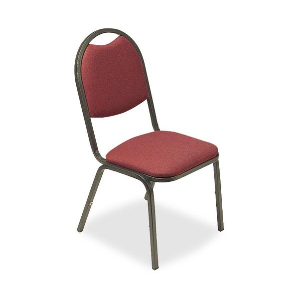 Lorell 8917 Round Back Stacking Chairs