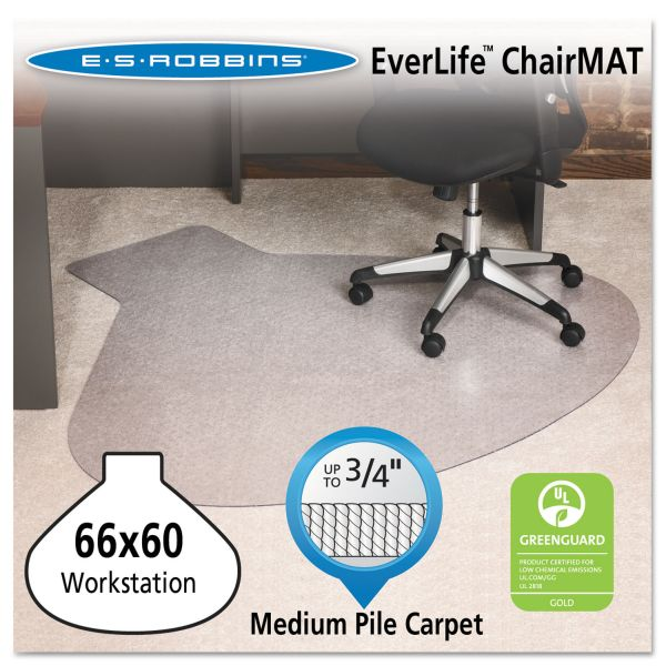 E.S. Robbins AnchorBar Medium Pile Chair Mat