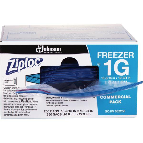 Ziploc Double Zipper Gallon Size Freezer Bags