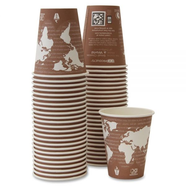 Eco-Products Renewable 8 oz Coffee Cups
