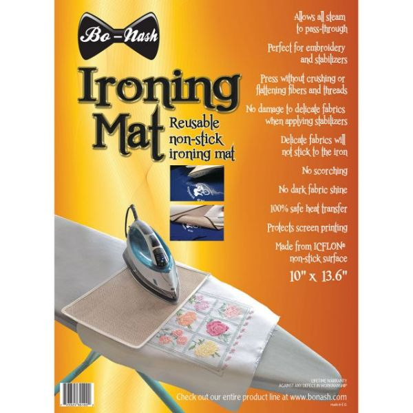 Ironing Mat W/Icflon Non-Stick Surface