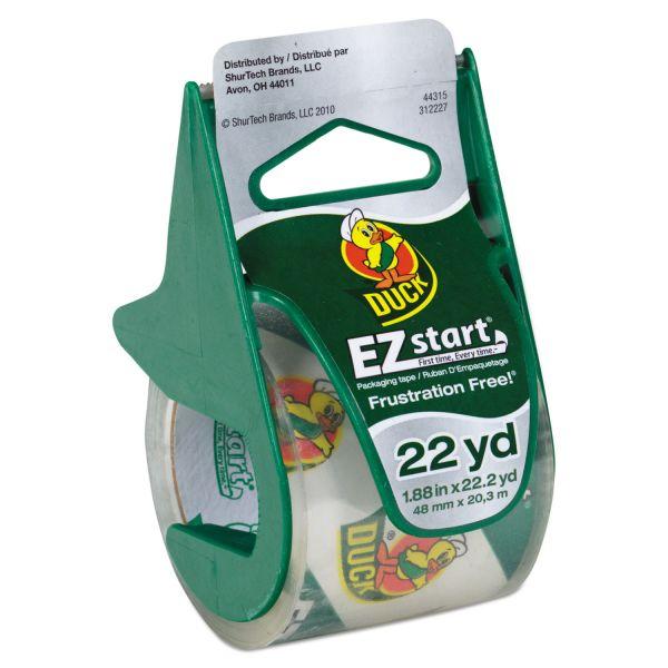 Duck Brand EZ Start Packing Tape with Dispenser