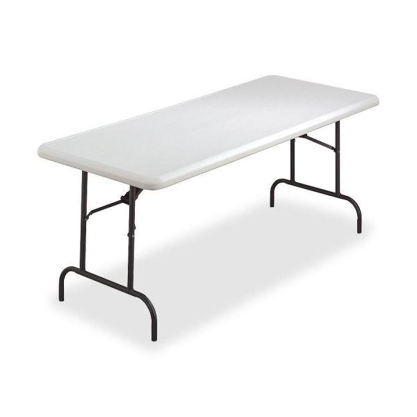 Lorell Ultra-Lite Rectangular Folding Table