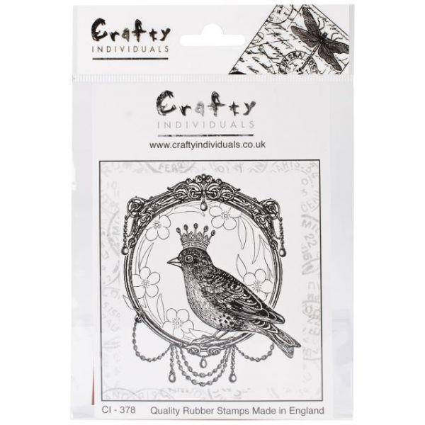 "Crafty Individuals Unmounted Rubber Stamp 4.75""X7"" Pkg"