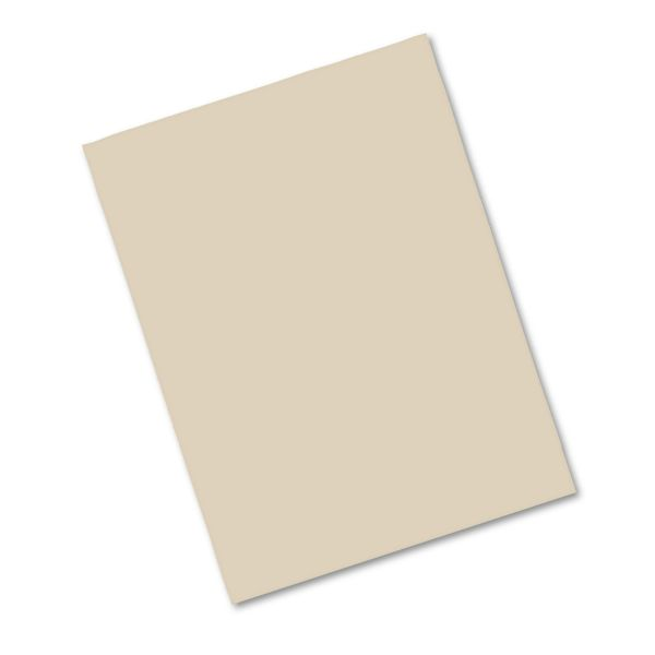 Pacon Heavyweight Brown Construction Paper