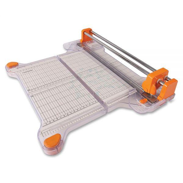 "Fiskars ProCision Bypass Rotary 12.5"" Paper Cutter"