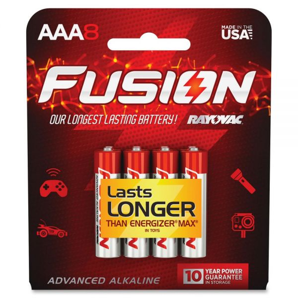 Rayovac Fusion Advanced Alkaline AAA Batteries