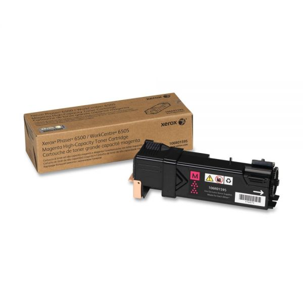 Xerox 106R01595 Magenta High Yield Toner Cartridge